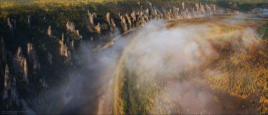 Picturesque Castles of the Sinyaya River in Yakutia, Russia, photo 24