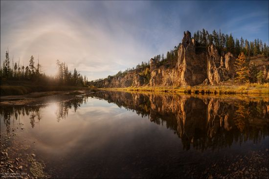 Picturesque Castles of the Sinyaya River in Yakutia, Russia, photo 4