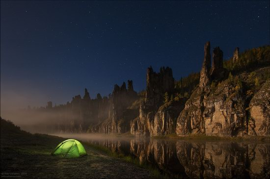 Picturesque Castles of the Sinyaya River in Yakutia, Russia, photo 6