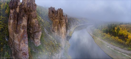 Picturesque Castles of the Sinyaya River in Yakutia, Russia, photo 7
