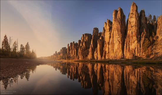 Picturesque Castles of the Sinyaya River in Yakutia, Russia, photo 9