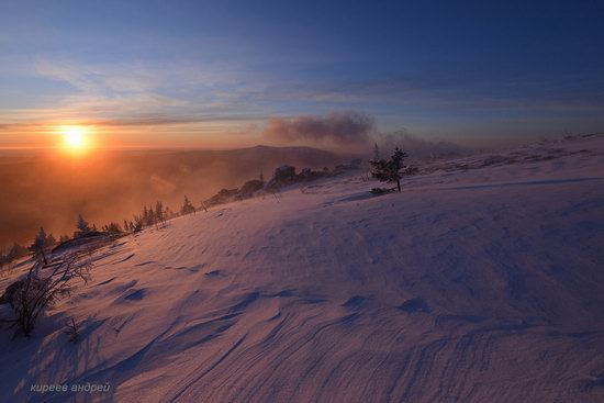 Frosty dawn in Taganay National Park, Russia, photo 10