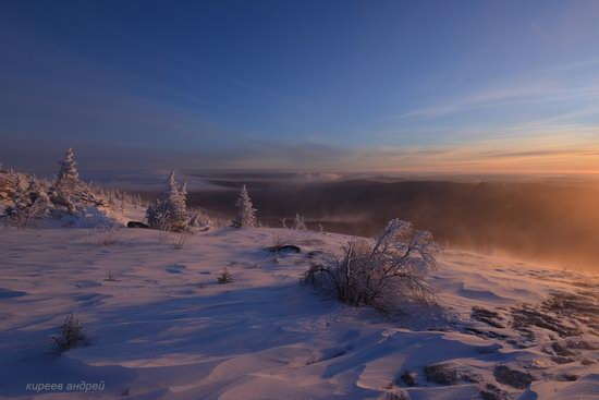 Frosty dawn in Taganay National Park, Russia, photo 13