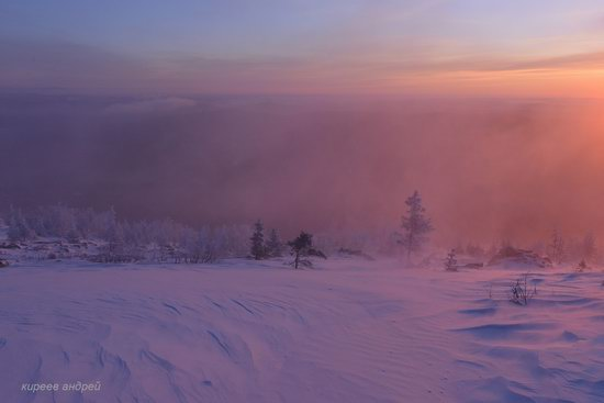 Frosty dawn in Taganay National Park, Russia, photo 5
