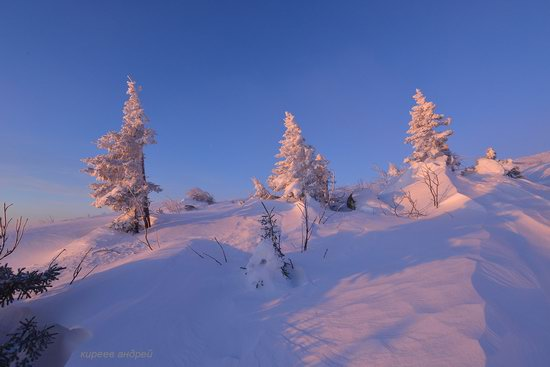 Frosty dawn in Taganay National Park, Russia, photo 6