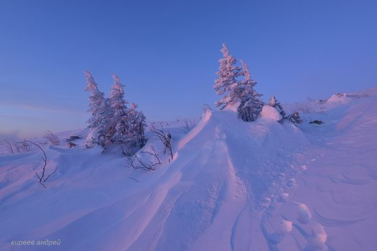 Frosty dawn in Taganay National Park, Russia, photo 8