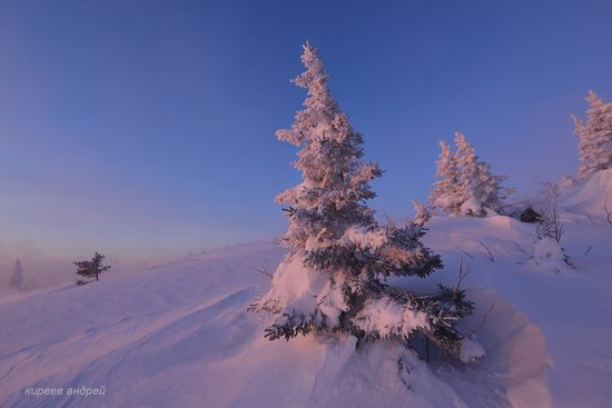 Frosty dawn in Taganay National Park, Russia, photo 9