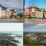 Photos of Tobolsk in 1912 and 2018