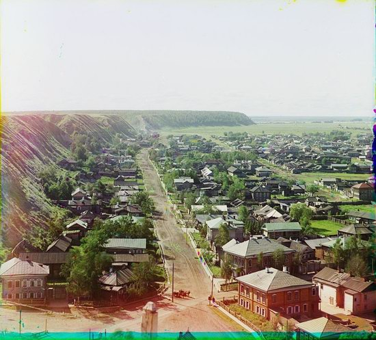 Tobolsk in 1912 and 2018, Russia, photo 6