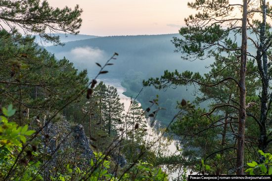 Bolshiye Pritesy Cliff, Chelyabinsk region, Russia, photo 5