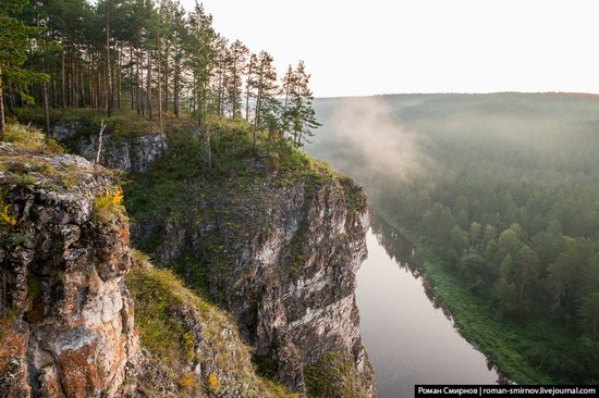 Bolshiye Pritesy Cliff, Chelyabinsk region, Russia, photo 8