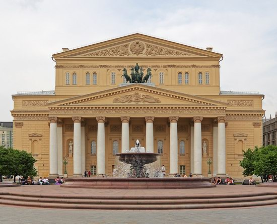 Bolshoi Theater after renewal, Moscow, Russia