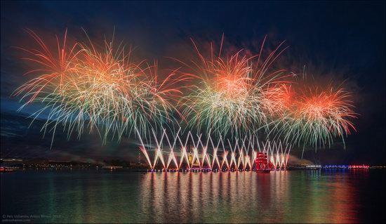 Scarlet Sails 2018, St. Petersburg, Russia, photo 17