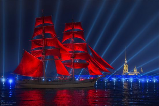 Scarlet Sails 2018, St. Petersburg, Russia, photo 2
