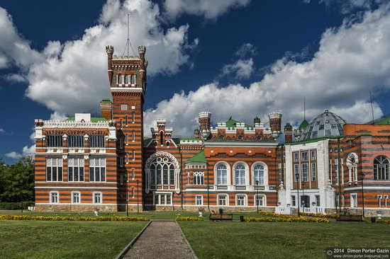 Sheremetev Castle in Yurino, Mari El Republic, Russia, photo 1