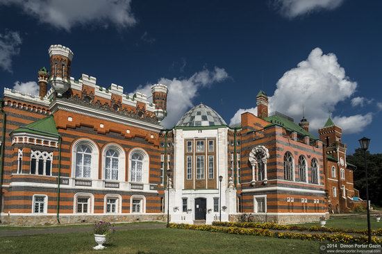 Sheremetev Castle in Yurino, Mari El Republic, Russia, photo 4
