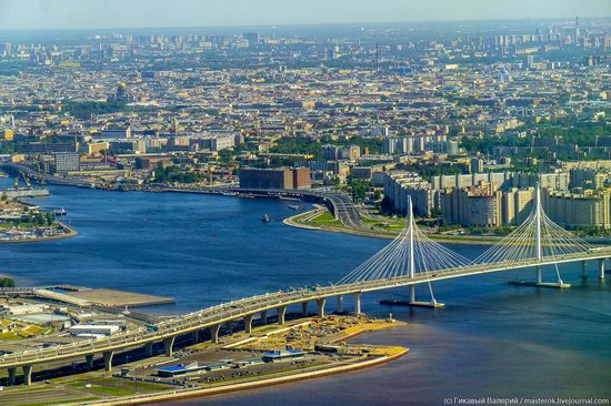 St. Petersburg, Russia from the highest observation deck in Europe, photo 14
