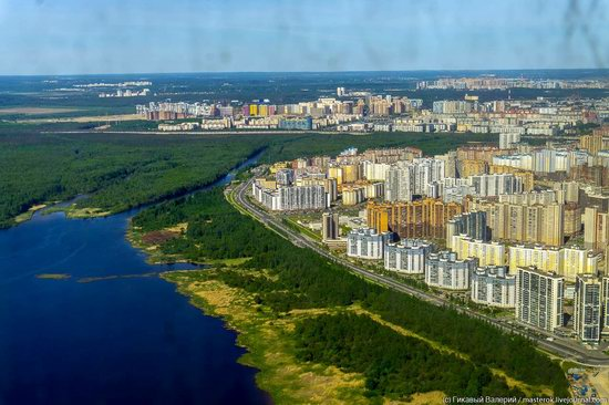 St. Petersburg, Russia from the highest observation deck in Europe, photo 21