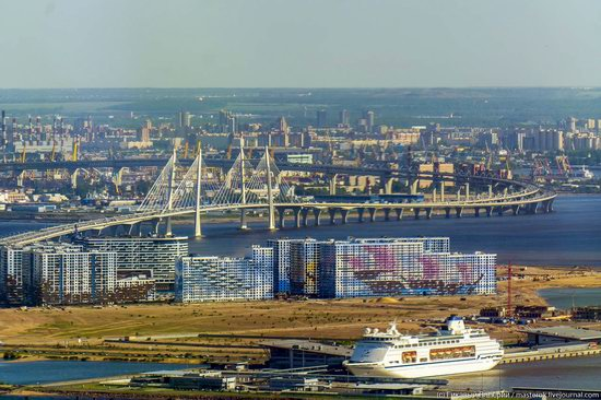 St. Petersburg, Russia from the highest observation deck in Europe, photo 25