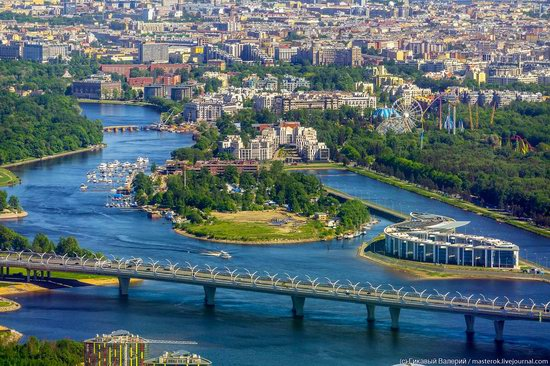 St. Petersburg, Russia from the highest observation deck in Europe, photo 3