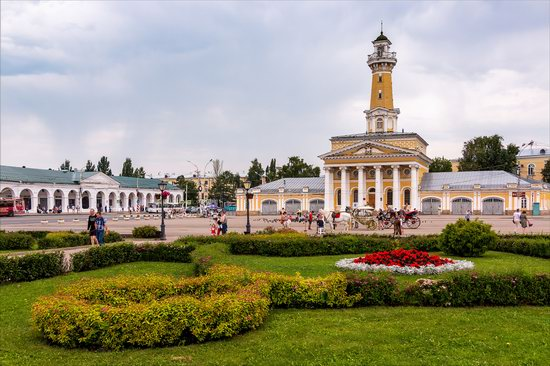 Historical center of Kostroma, Russia, photo 1