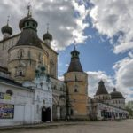 Rostov Boris and Gleb Monastery in the Yaroslavl Region