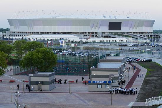 World Cup 2018 Legacy, Russia -  the Rostov Arena