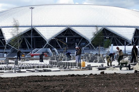 World Cup 2018 Legacy, Russia - the Samara Arena