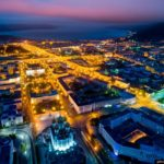 Magadan – the view from above
