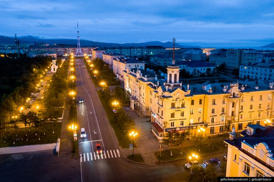 Magadan, Russia - the view from above, photo 10