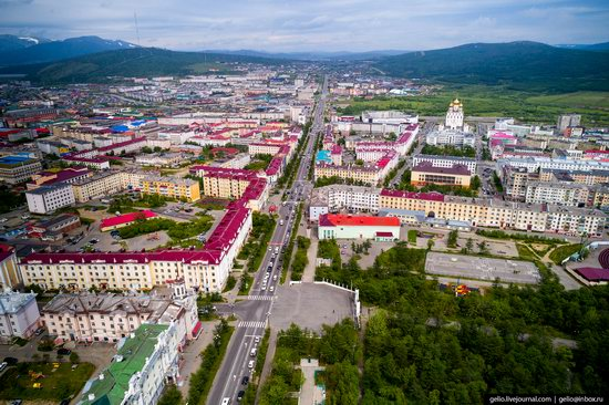 Magadan, Russia - the view from above, photo 11
