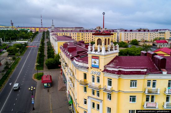 Magadan, Russia - the view from above, photo 13
