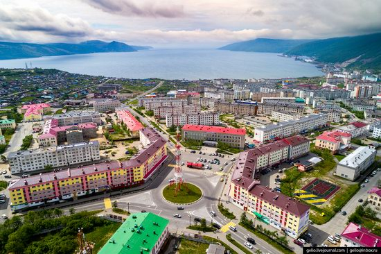 Magadan, Russia - the view from above, photo 14