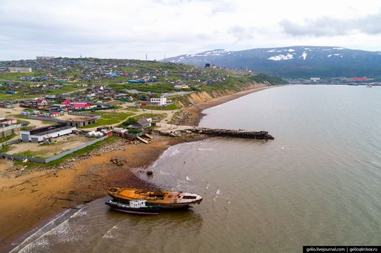 Magadan, Russia - the view from above, photo 17