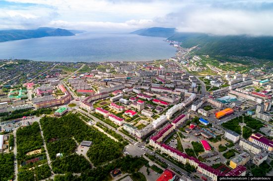 Magadan, Russia - the view from above, photo 2
