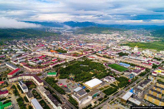 Magadan, Russia - the view from above, photo 21