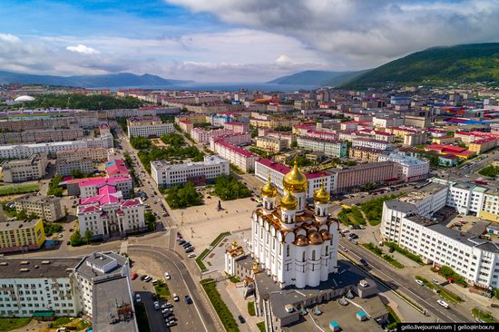 Magadan, Russia - the view from above, photo 23