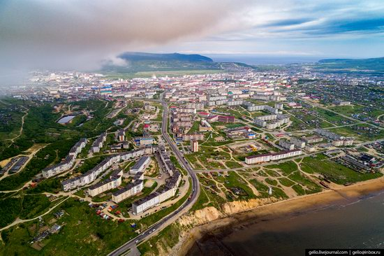 Magadan, Russia - the view from above, photo 24