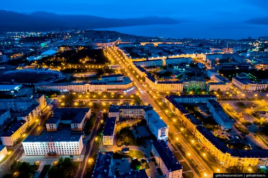 Magadan, Russia - the view from above, photo 3