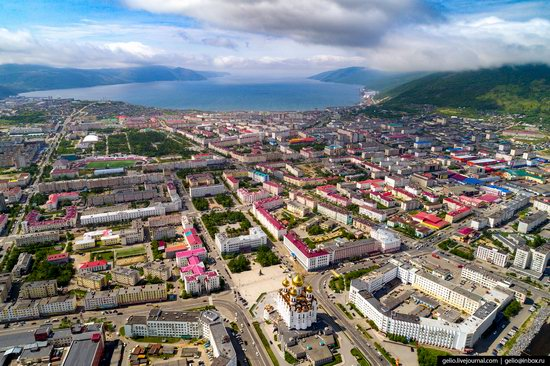 Magadan, Russia - the view from above, photo 4