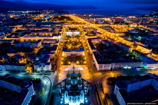 Magadan, Russia - the view from above, photo 5