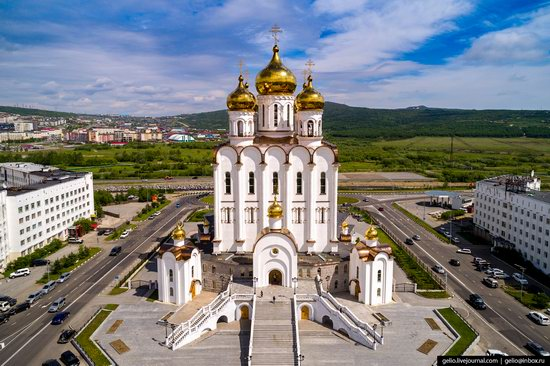 Magadan, Russia - the view from above, photo 6