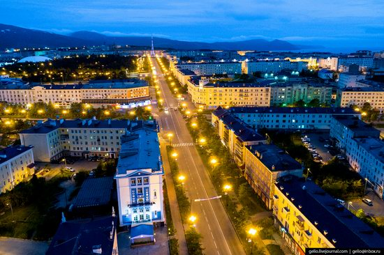 Magadan, Russia - the view from above, photo 8