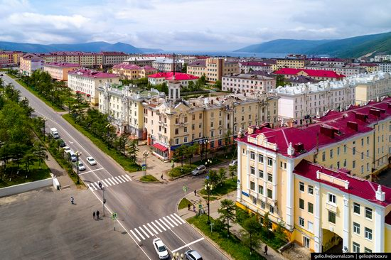 Magadan, Russia - the view from above, photo 9