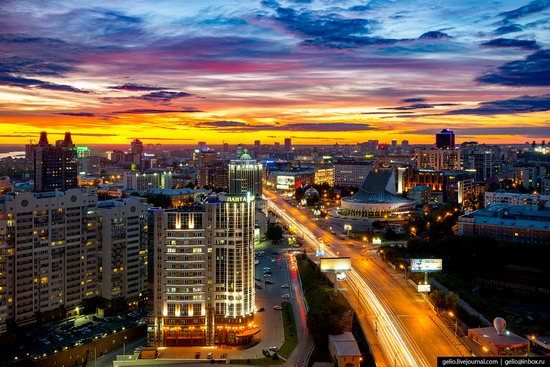 Novosibirsk from above, Russia, photo 1