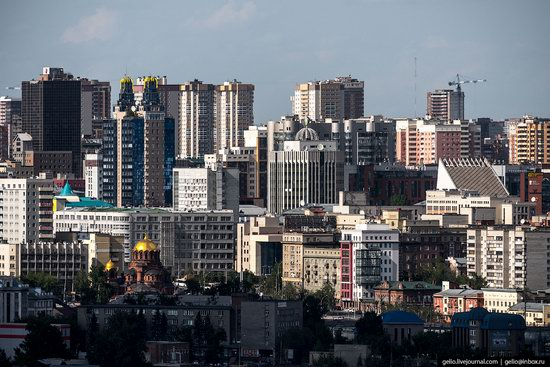 Novosibirsk from above, Russia, photo 14