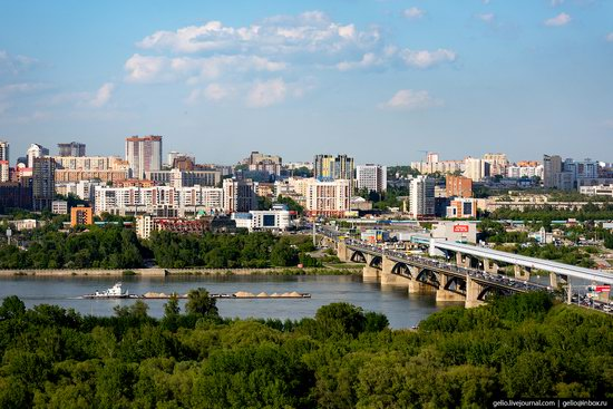 Novosibirsk from above, Russia, photo 15