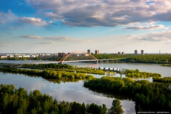 Novosibirsk from above, Russia, photo 16
