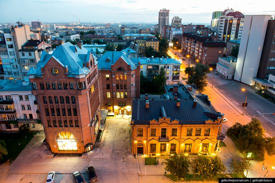 Novosibirsk from above, Russia, photo 17