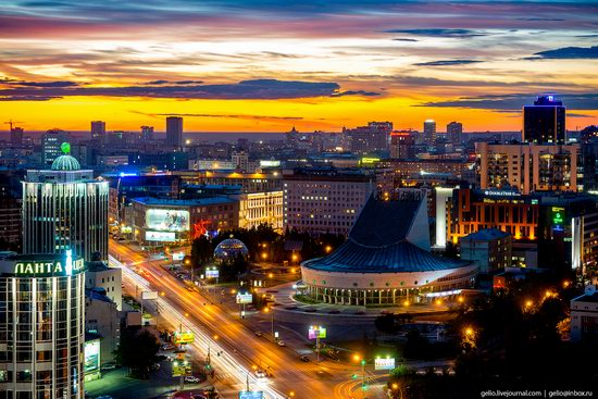 Novosibirsk from above, Russia, photo 24